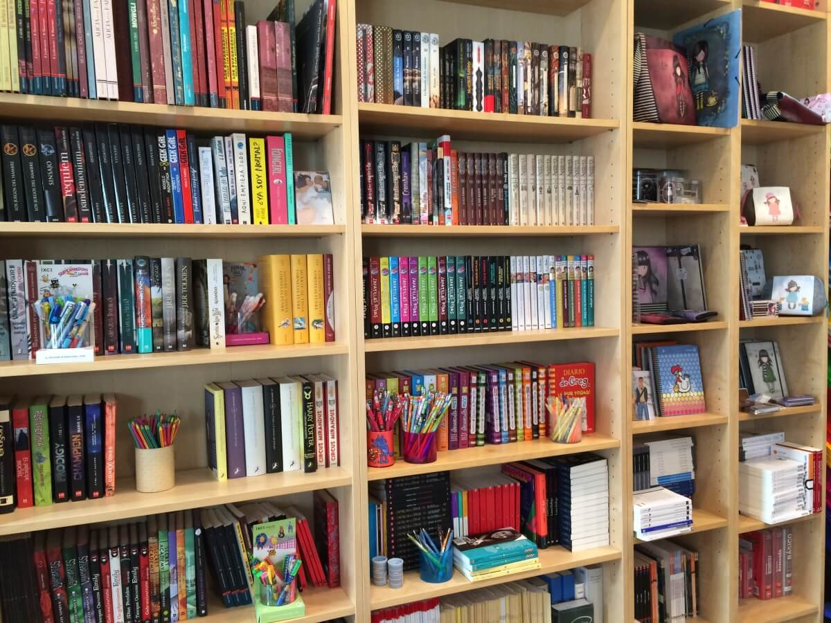 la marmota estanteria de libros